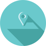 pay by location, or by device icon