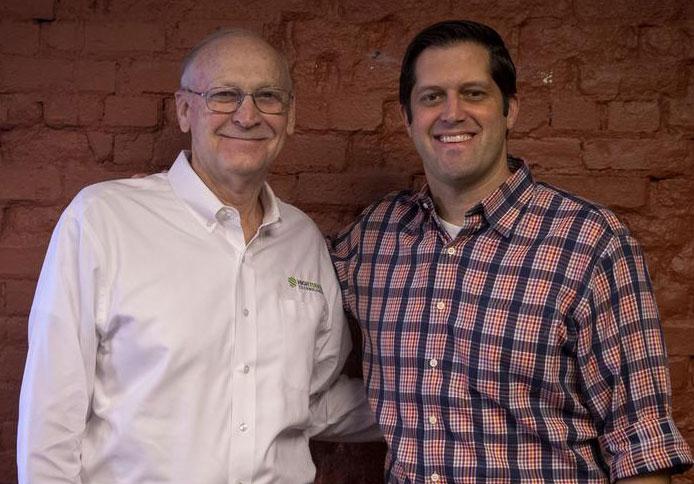 WBJ photo of Wayne Chambers and Jon Rolph